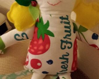 Garden Girl Rag Doll