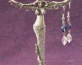 Mermaid Earring Holder