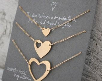Generations bracelet set - Gift for Grandmother - Mother's Day gift set - Grandmother Mother Daughter - Mother gift - Grandma - Gift for Her