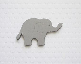 Elephant Party Decoration, Elephant Cutouts, Color Choice, Baby Shower Decor, Birthday Party Decoration, 20 CT.