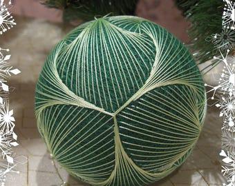 Christmas ornaments Christmas balls temari Christmas gift tree toy Winter Holiday decor New year gifts Christmas decor Christmas tree ball
