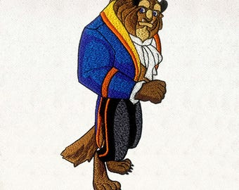 the Beast Prince Digital Embroidery Design