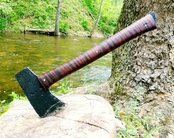 Camp Axe with Curly Maple Handle