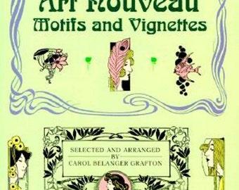 Art Nouveau Motifs and Vignettes (Dover Pictorial Archive)