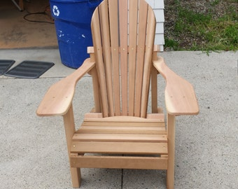 Western Red Cedar Adirondack Chair