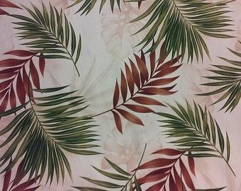 Tropical Hawaiian Print in Cotton  (Bulk Yardage available)