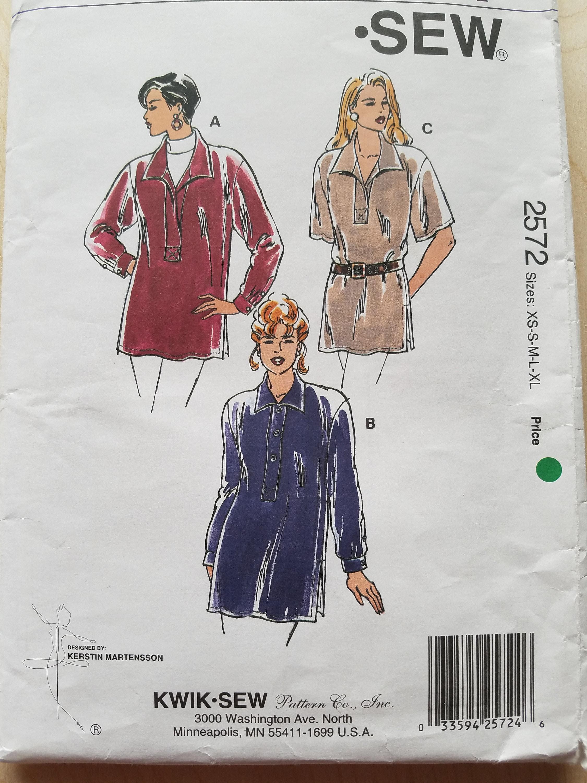Kwik Sew Top-Muster