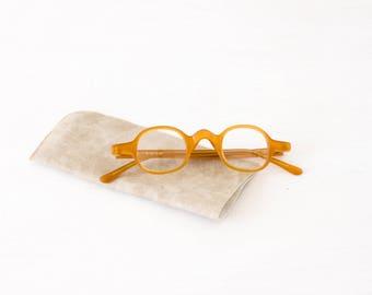 APIS - Eyeglasses - Arminho collection - handmade in portugal - honey bee color