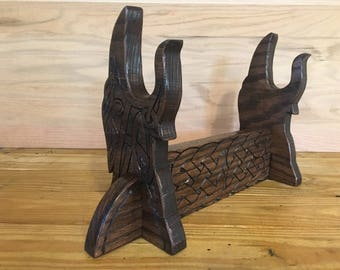 Celtic Raven Weapon Holder