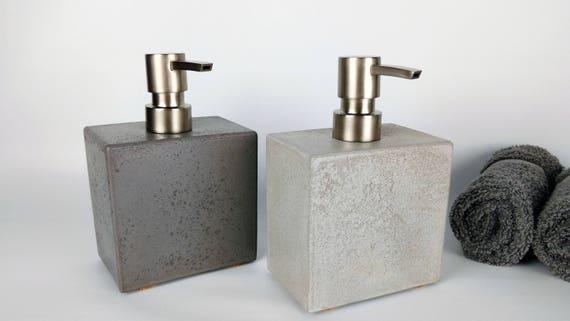 Grey Concrete Soap Dispenser / Soap Dispenser Pump / Soap