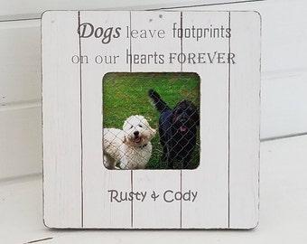 Personalized dog frame - pet memorial - pet frame - dog memorial - dog remembrance - pet loss gift - dog loss  - cat memorial frame
