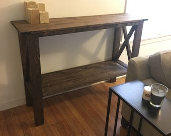 Entryway table (local pick up/delivery only)
