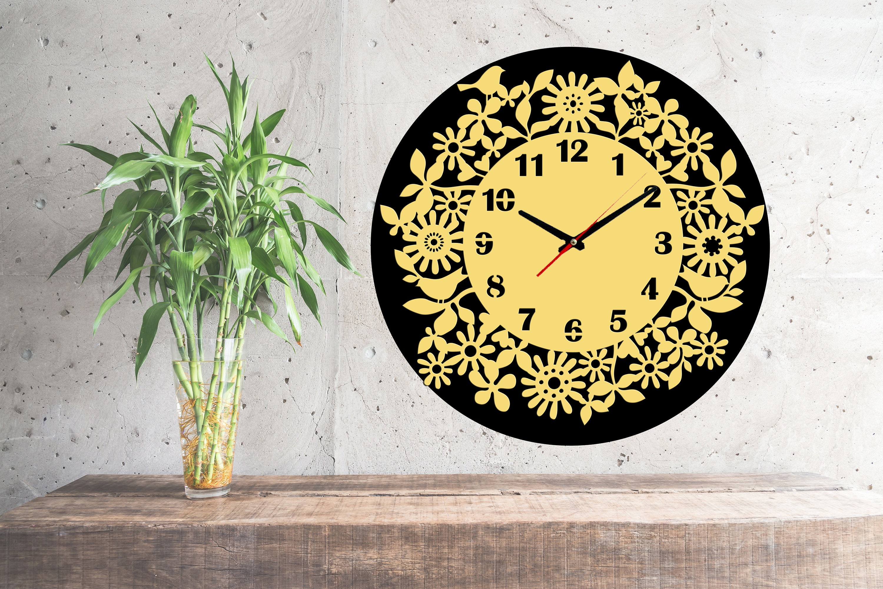 Generous Western Clocks Wall Decor Photos - The Wall Art Decorations ...