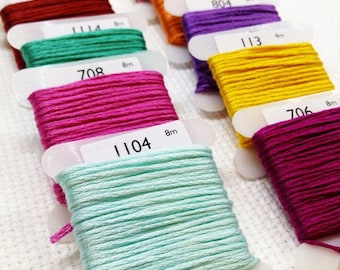Madeira stranded cotton thread (1307 - 2303)