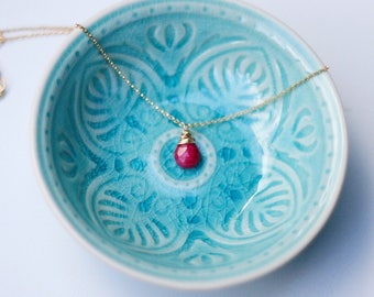Far More Than Rubies - Ruby Necklace
