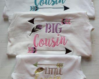 Biggest Cousin, Big Cousin, Little Cousin, New Cousin gift, gift set, Cousins