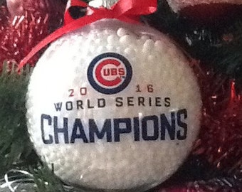 Chicago Cubs 2016 World Series Ornament