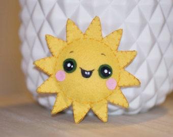 Mini plush sun