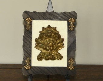 Religious Art featuring a vintage cherub