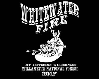 Whitewater Fire shirt