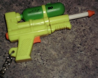 Vintage 1997 Super Soaker Key Chain