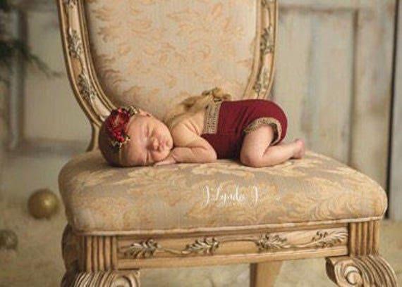 Scarlett Newborn Romper