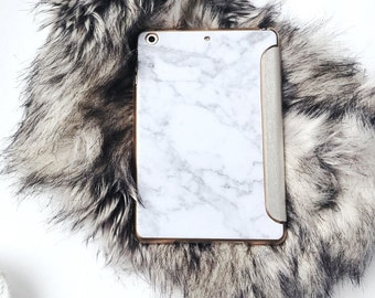 Marble iPad Case | iPad Pro 10.5 Case iPad Pro 12.9 Case iPad Case iPad Pro Case iPad Sister Gift Birthday Gift Gold Personalized Gift