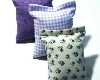 Catnip Mini Kicker Pillow Cat Toy Set of 3