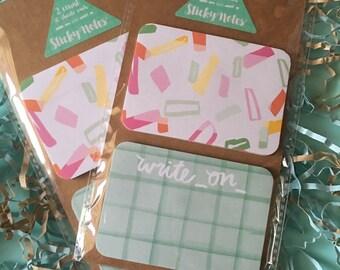 Confetti Sticky Notes