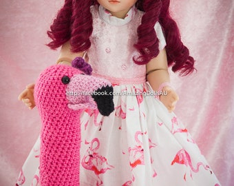 Customised BJD Doll with Flamingo