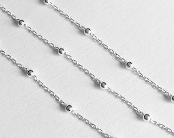 Sterling Silver Chain Satellite Chain WHOLESALE