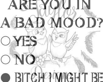 bad mood svg file