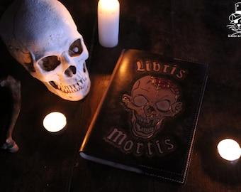 Libris Mortis / grimoire leather