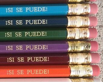 Si se puede! pencils
