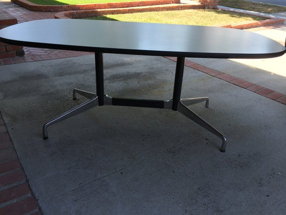 Eames For Herman Miller Mid Century Conference Table - Mid century conference table