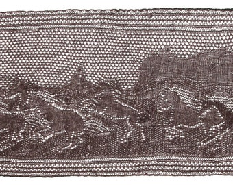 Running Free  Horses in Monument Valley Lace pattern (PDF)