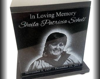 Handmade Adult child Granite Urn  150 to 250 CU Personalised Urn Cremation Urn Urn for ashes Urn for human ashes  Handcrafted Urn Roses