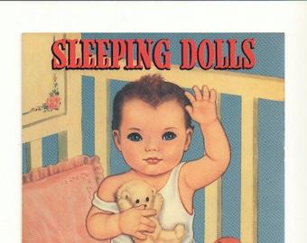 Vintage Queen Holden Paper Dolls with Eyes that Open & Shut