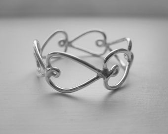 Heart Ring 925 Sterling Silver