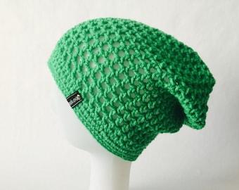 Crochet Slouchy Mesh Hat | iHat v3.0