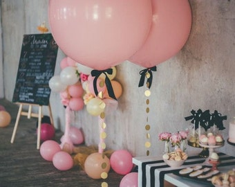 PINK BALLOON - giant ballon - jumbo balloon - baby shower - wedding decorations - party supplies - bridal shower - birthday party