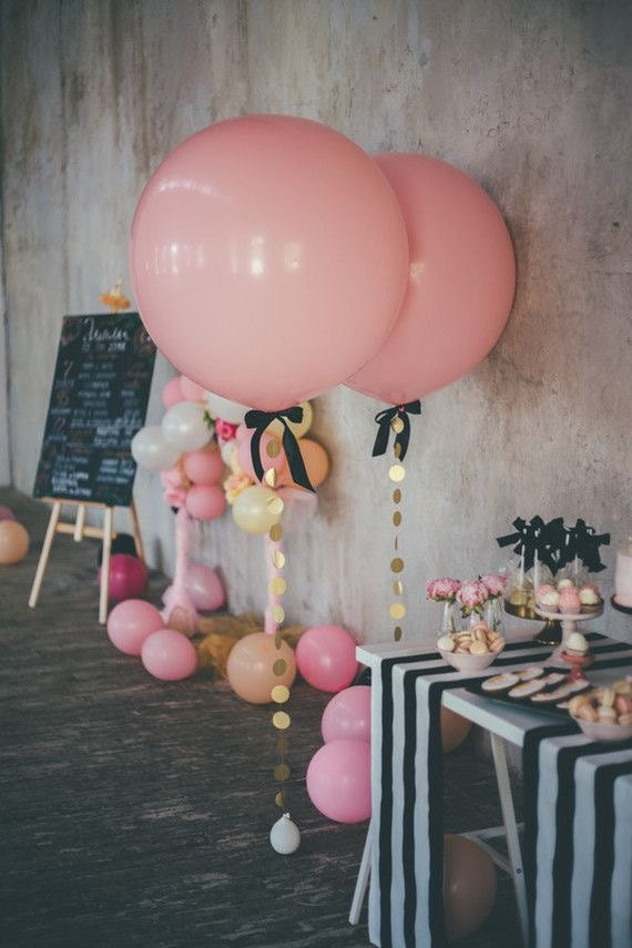 PINK BALLOON   Giant Ballon   Jumbo Balloon   Baby Shower   Wedding  Decorations   Party Supplies   Bridal Shower   Birthday Party From  ButtercupBlossom On ...