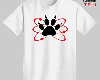 Carl Halloween Costume or Cosplay - Atomic Paw - Adult T-Shirt - We carry sizes S - 5XL