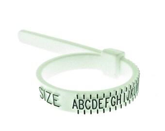 Brand New Plastic Multisizer Ring Gauge UK sizes A - Z