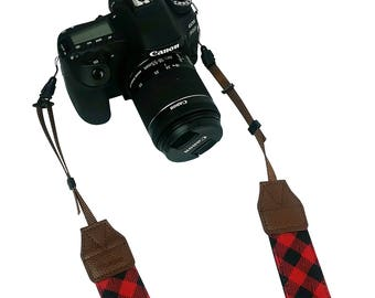 DSLR Camera Shoulder Neck Strap by – Modern Belt For All Camera Nikon/ Canon/ Sony/ Olympus/ Fujifilm/ Pentax - Perfect Gift For Women