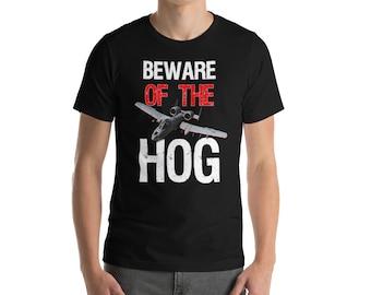 A-10 Warthog - Beware of the Hog T-shirt