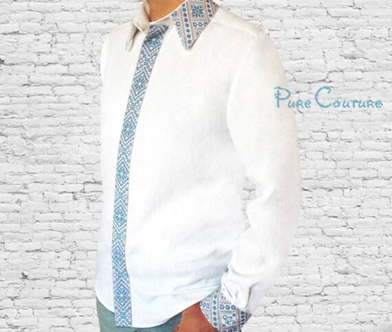 (M) Wilshire Long Sleeve Dress Shirt