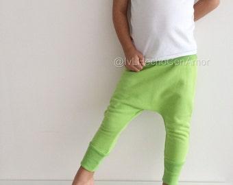 Toddler harem pants, girl yoga pants, baby harem pants, boy harem pants, girl harem pants, girl pants, boy pants, minimalist clothing