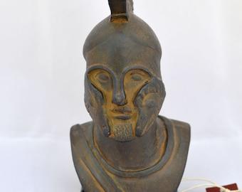 Spartan King Warrior Hero Leonidas sculpture statue bust clr