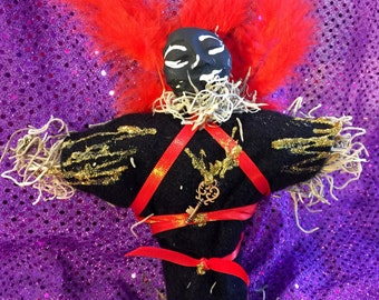 New Orleans Style Voodoo Doll ~ Papa Legba